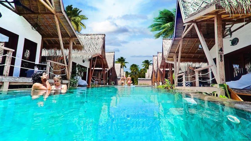 Villas 1 Deluxe Lagoon Pool Gili Trawangan KAley