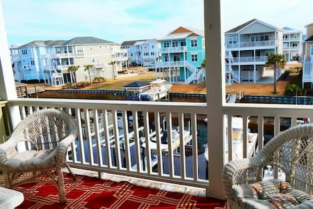 OIB Getaway at the beach with a private boat slip and near multiple golf courses. - Ocean Isle Beach - Condominium