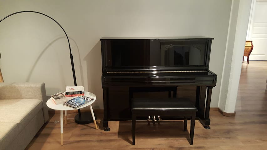 A piano for those who like playing.