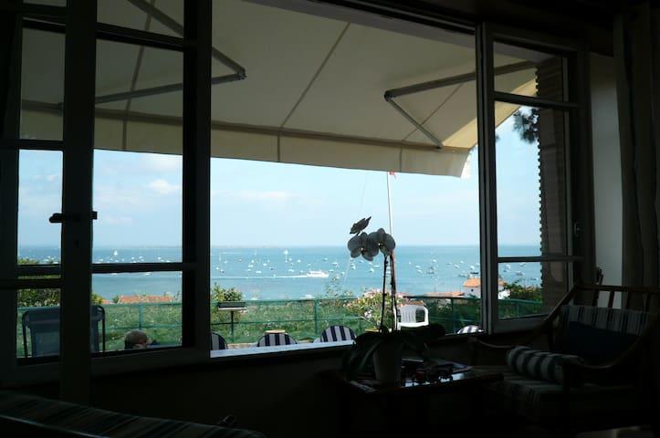 Villa avec vue imprenable sur mer - Cap-Ferret - House