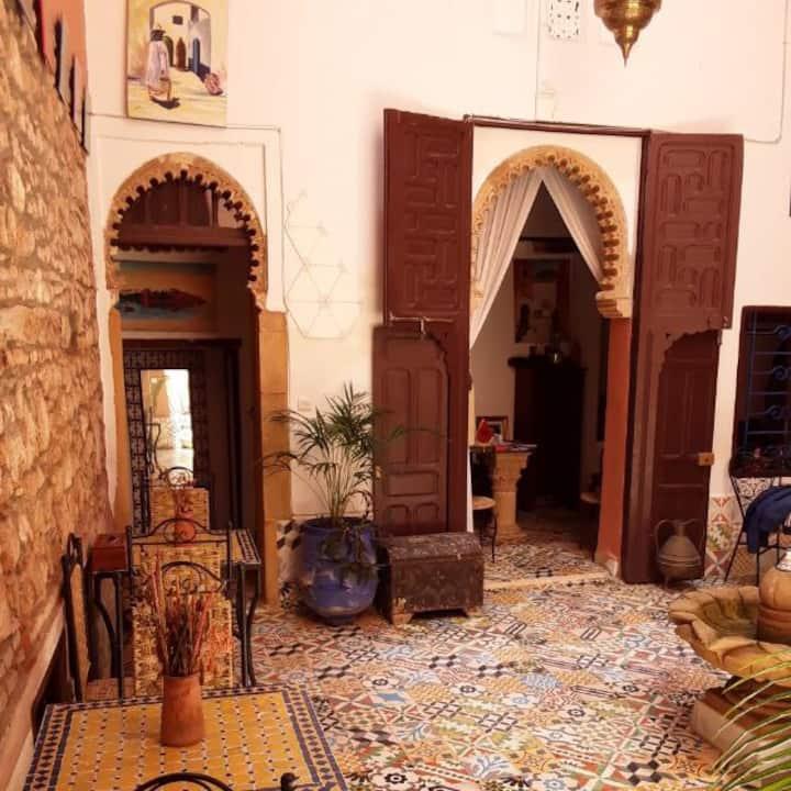 Chambre familiale 1: Riad jbara
