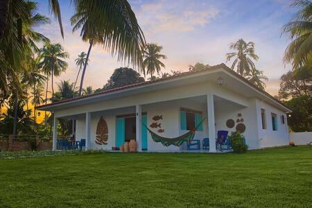 Sitio de coqueiros na mais bela praia do NE - Maragogi - Casa