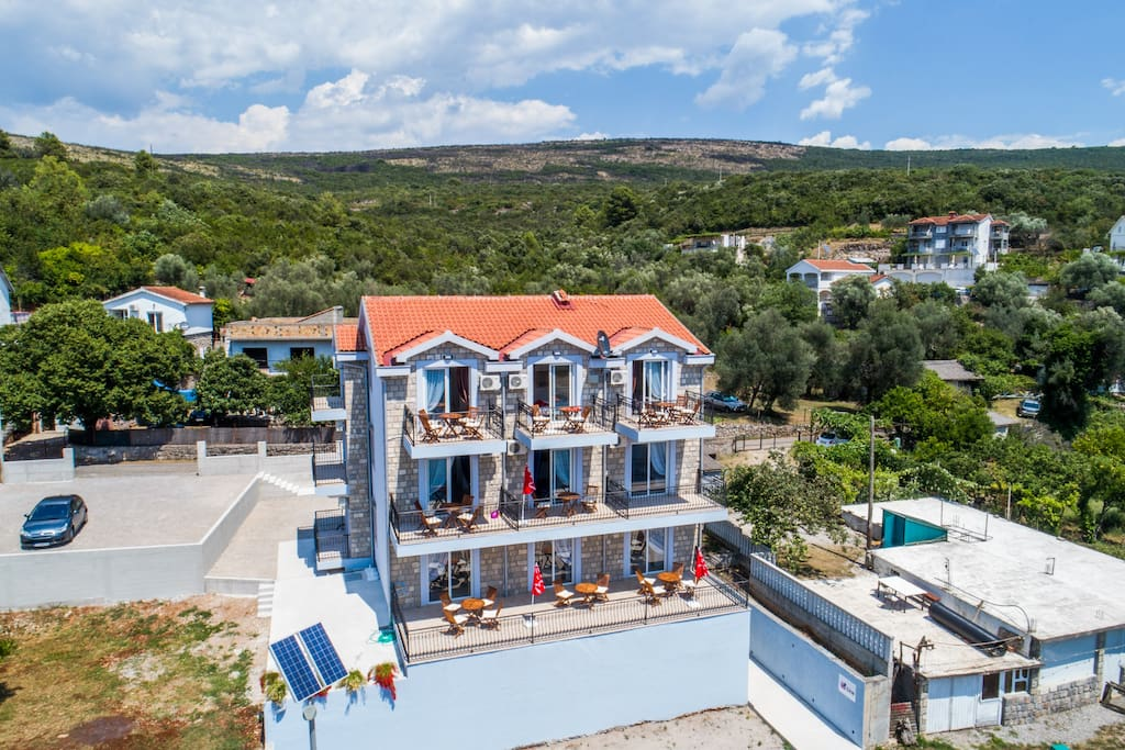 Villa SAN - brand new building with apartments.