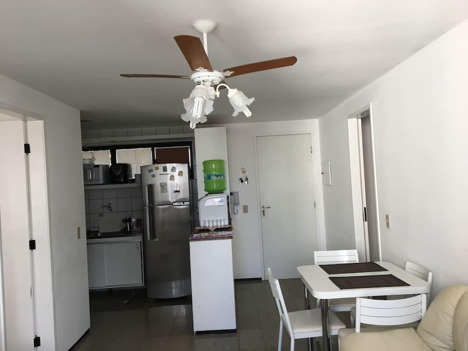 Cozinha e Mesa