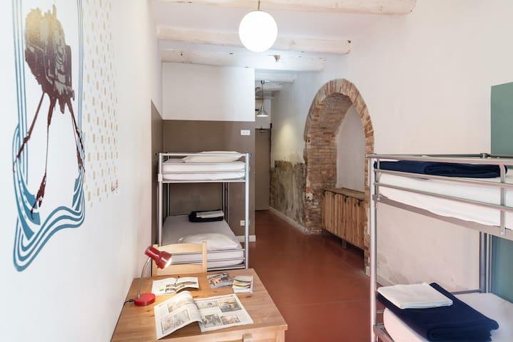 Vertigo Vieux Port - Lit en dortoir de 4 pers.