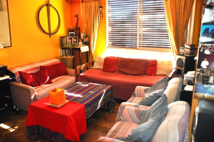 Nice Red/Green room for Tourists and Students - Buenos Aires - Apartmen