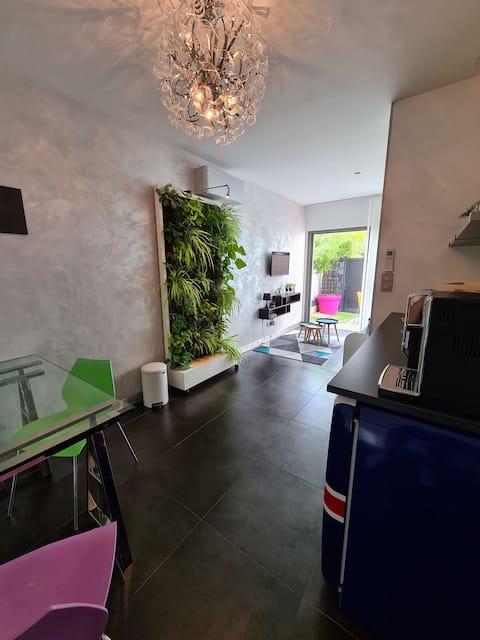 Studio Lyon Est avec extérieur privatif