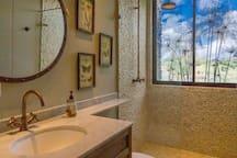 Bathrooms, one in each room in the main floor