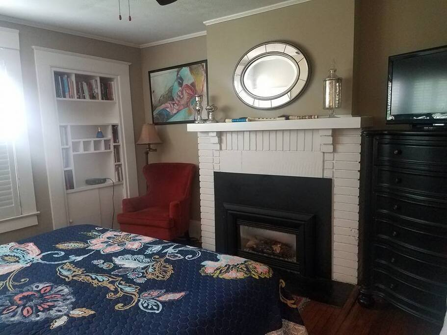 Gas Fireplace in Master Bedroom #1