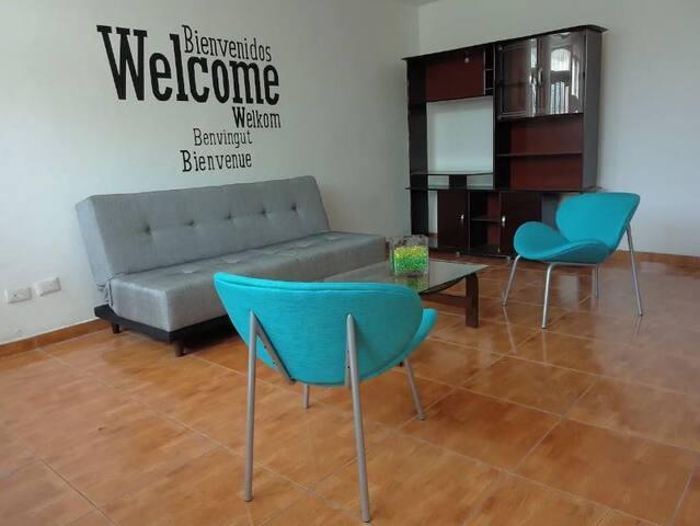 Acogedor espacio para tí y tú familia!
