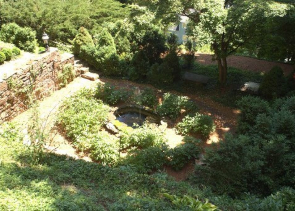 lower gardens and refection pond