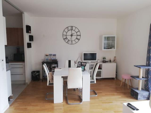 Beau studio avec jardin