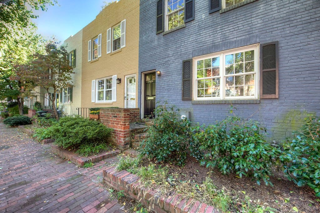 Your quaint historic street in Georgetown!