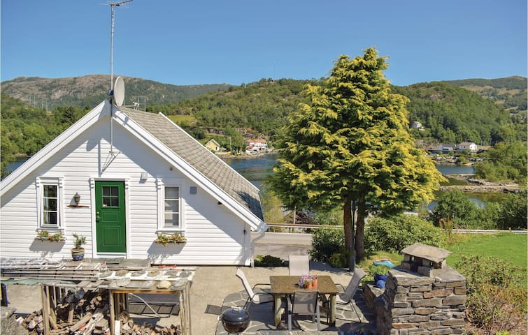 Holiday cottage with 1 bedroom on 48m² in Skjoldastraumen