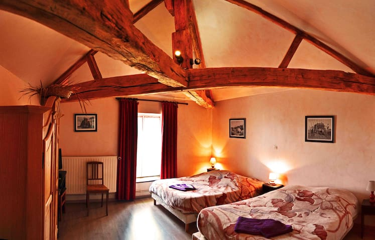 chambre familiale - Saint-Paul - Bed & Breakfast