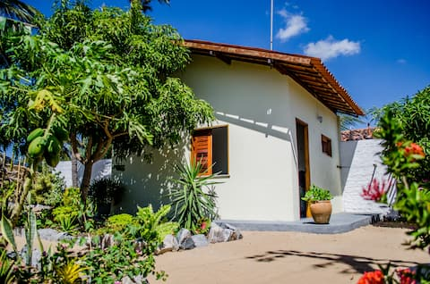 Camera indipendente in giardino, Lagoinha.