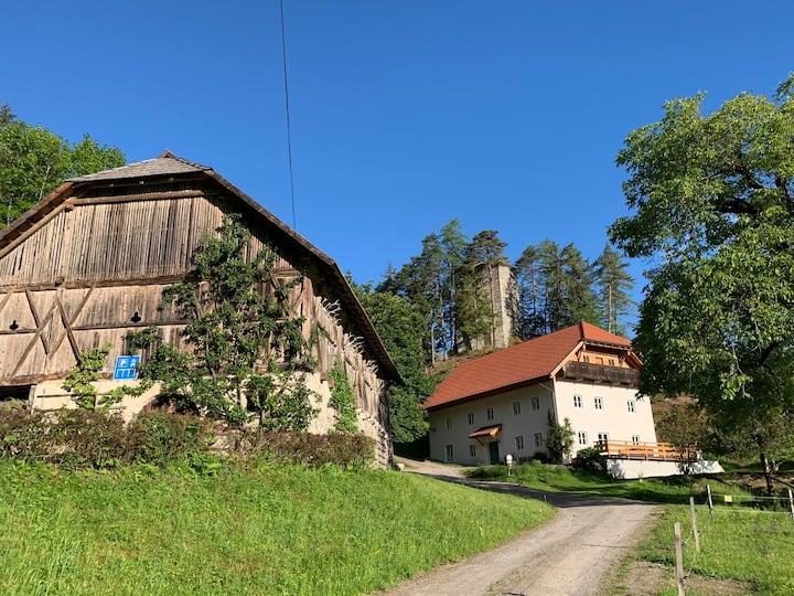 Historisches Forsthaus Stein - Ruhe und Ausblick