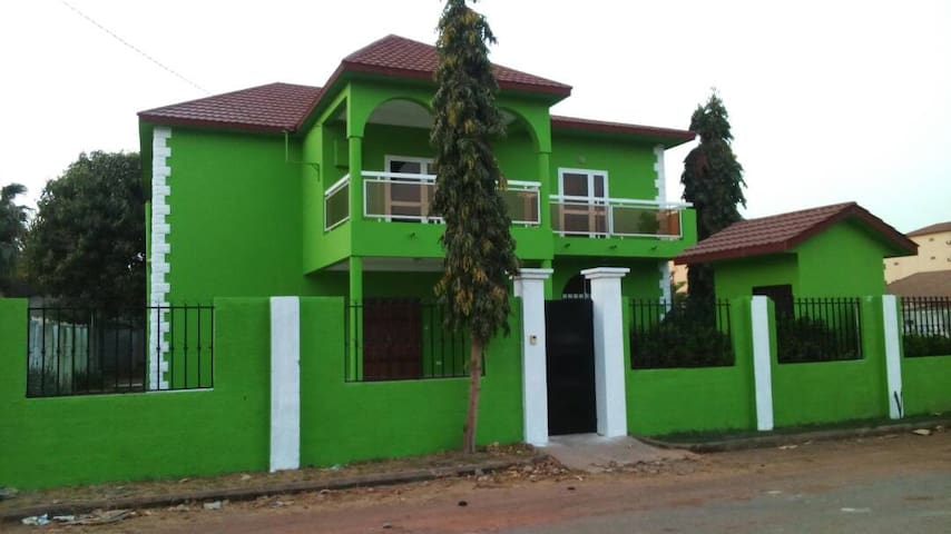 A beautiful villa in The Gambia (room/house rent)