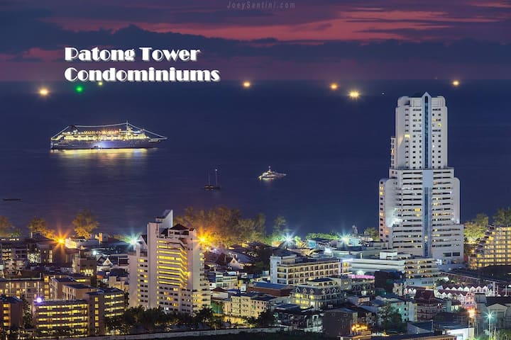 Patong Tower Discounted Luxury 2 Bdrm. Condominium