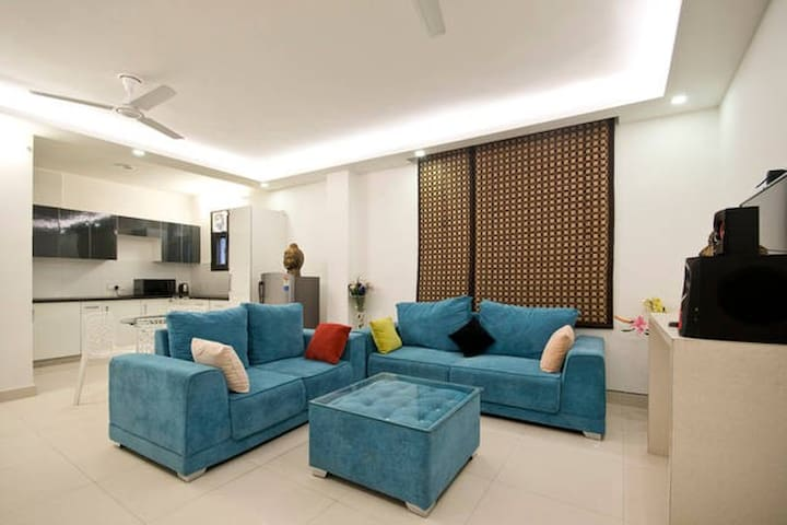 1 Bedroom for 2 guests at Chattarpur  New Delhi