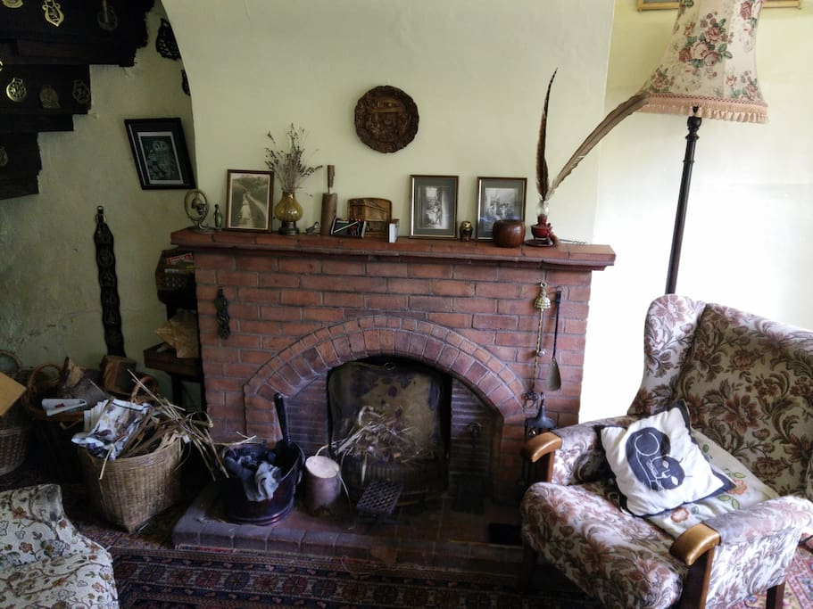 Cosy up in front of the log fire