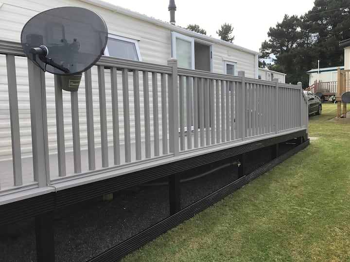 Private Caravan at Fontygary Leisure Park