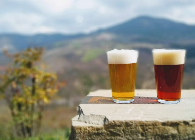 Craft Beer, Bed&Breakfast on the Francigena route