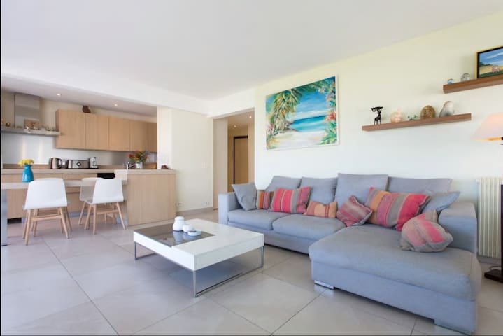 Appartement  2 Bedroom  Cannes Palm Beach Sea View