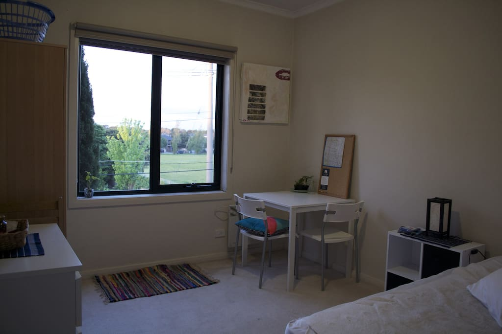 Bedroom from entrance