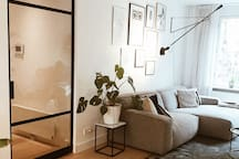 Hip & bright design flat in best area of the city!