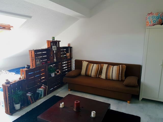 Sunny and Charming cozy room in Ludwigsburg