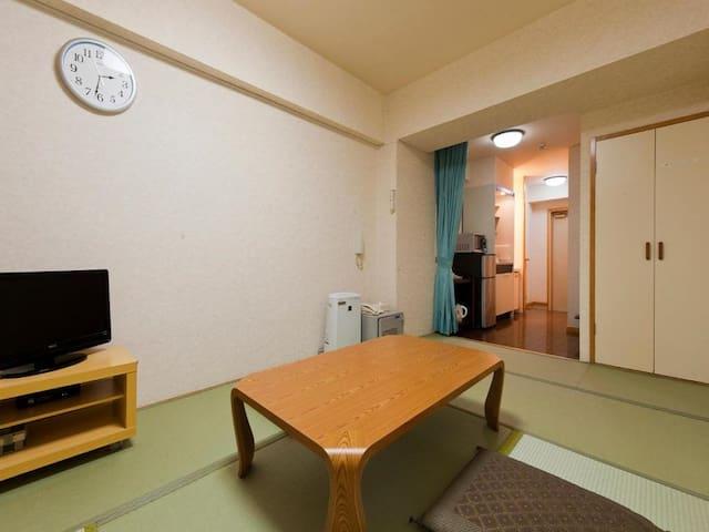 7mins->Atami Sta./JPN-Style Economy Room