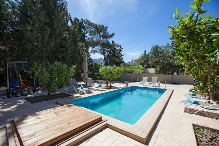 Sunny Rhodes Villa
