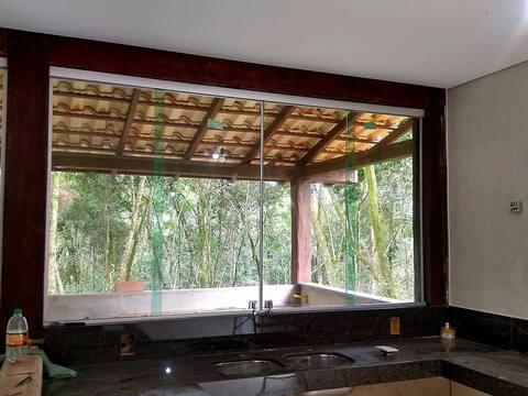 Casa de Campo Nova en Macacos (Nova Lima - MG)