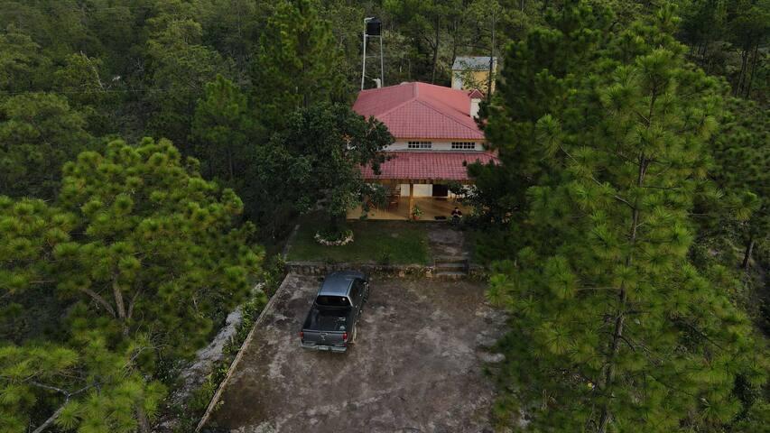 Cabaña con vista a las montañas, Villa Verde