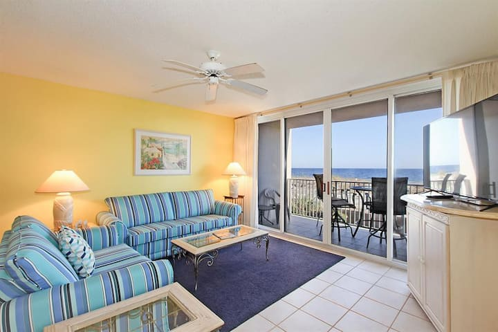 Island Princess 203~2 Bed/2 Bath~Gulf Front View!!