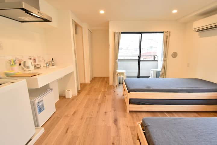 301★wifi18 min to Shinjuku, 2 min walk station