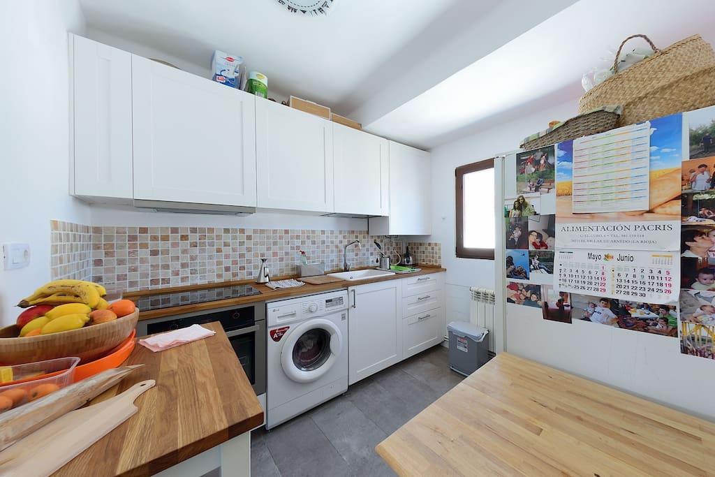 Brilliant kitchen.