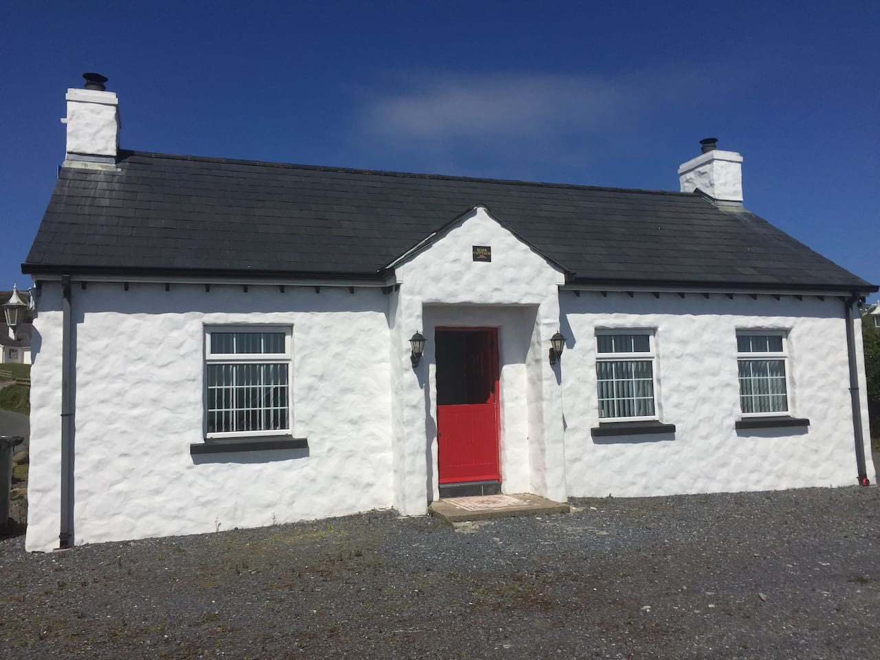 The Front of Rose Cottage