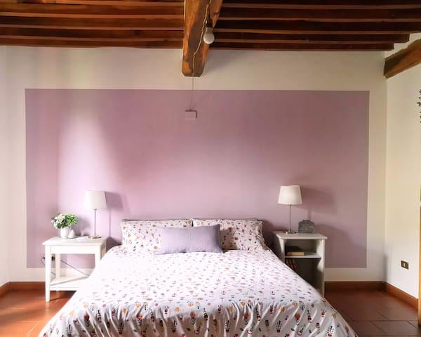 cozy room into nature-B&B Acquafresca[#2room]