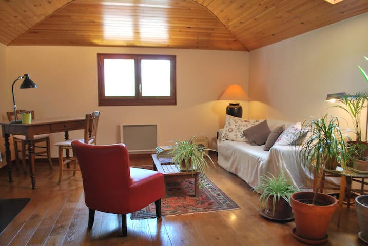 Chambre et salon privés proche Canal du Midi - Castanet-Tolosan - Hus