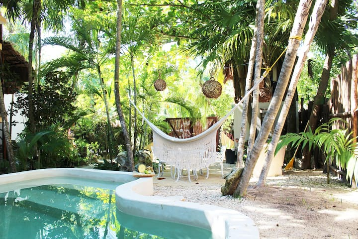 Awesome Apartment in Tulum with Beach Access