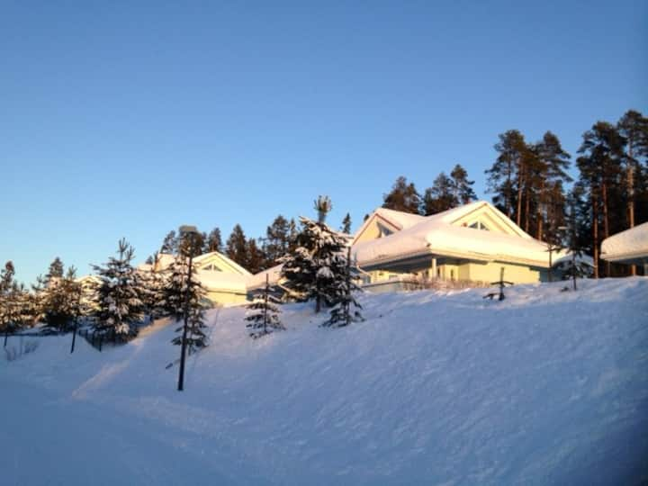 Holiday house with 2 br and loft in Katinkulta