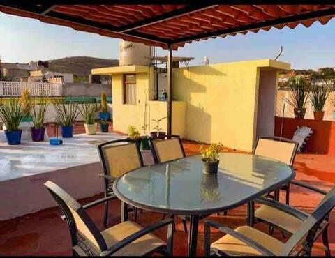 hermoso departamento 3 recamaras, terraza cocina