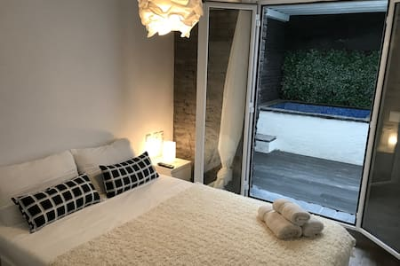 Small apartment with Jacuzzi internet Free Wifi C3