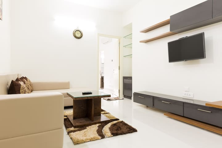 Modern studio apartment with kitchen hitech city for M kitchen hyderabad