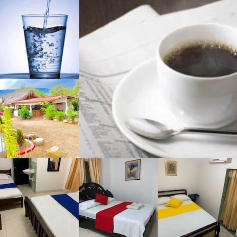 Agua Gratis y Café Gratis