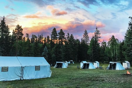 LUXE Tent Camp in Yellowstone | by Air Concierge - Yellowstone National Park - Tent