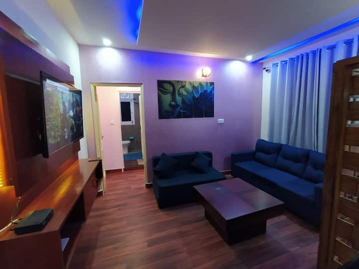 One Bedroom + Living-Room + Balcony// in Shimla