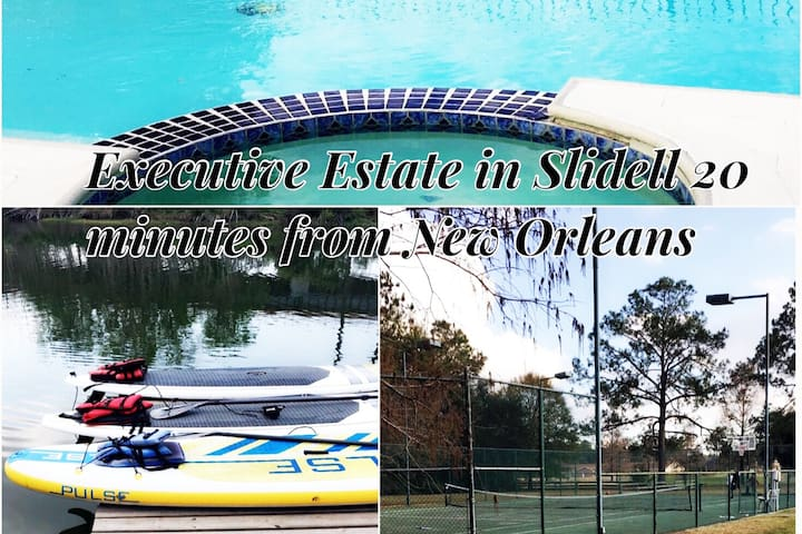 Family Fun in an Executive Estate Minutes from N.O